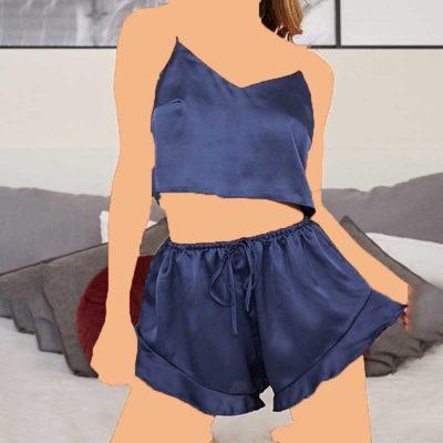 تاب و شلوارک برند لباس سکرت مدل victoria777