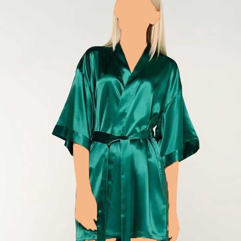 روبدوشامبر برند لباس سکرت از جنس ساتن ابریشم