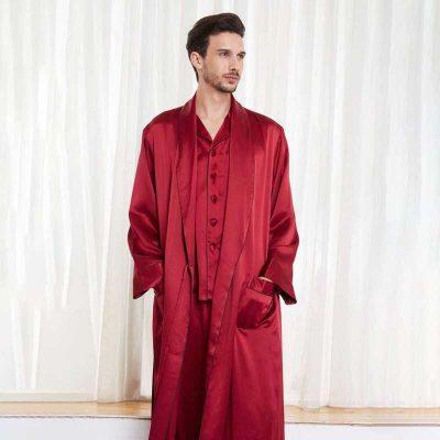روبدوشامبر مردانه برند لباس سکرت مدل victoria995