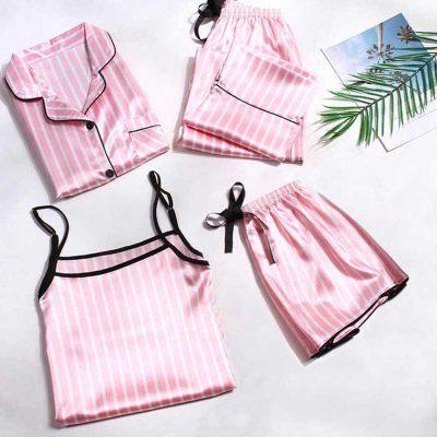 ست کامل لباس خواب لباس سکرت