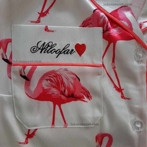 گلدوزی اسم و یا برند شما روی لباس و پارچه