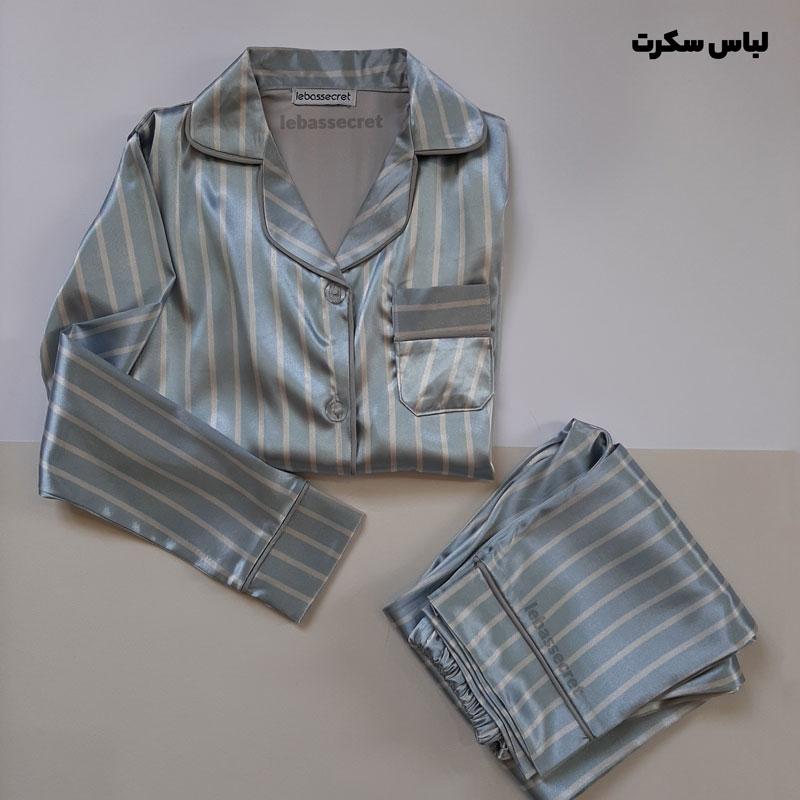 لباس خواب بچه گانه ابریشمی set321