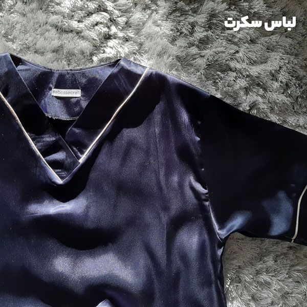 لباس خواب مردانه ابریشمی